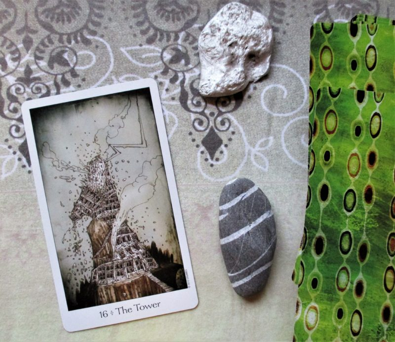 16 Tower Dreaming Way Tarot
