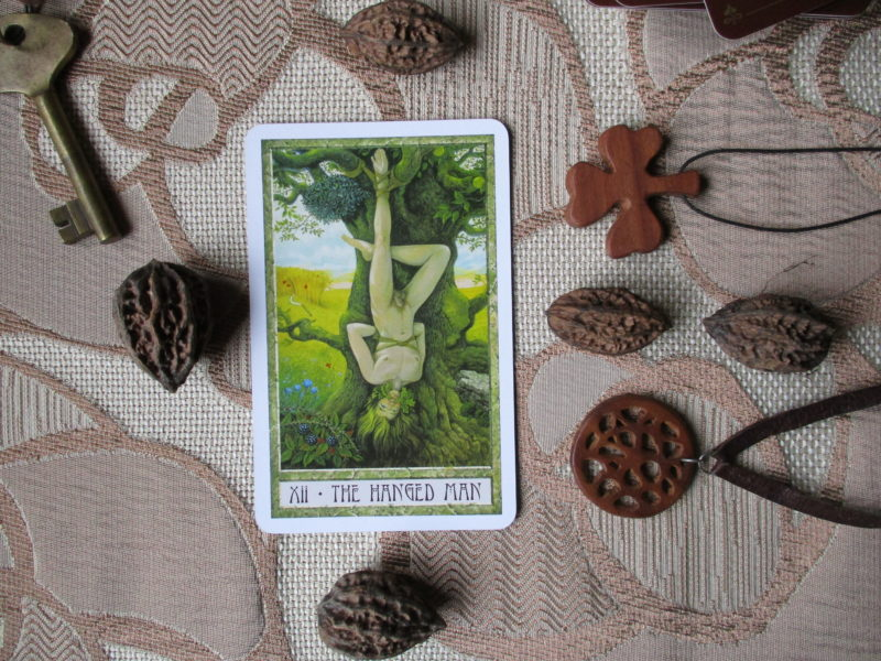 The Hanged Man Druidcraft Tarot