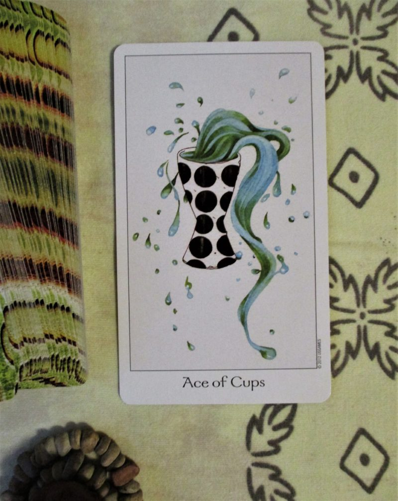 ace of cups Dreaming Way Tarot