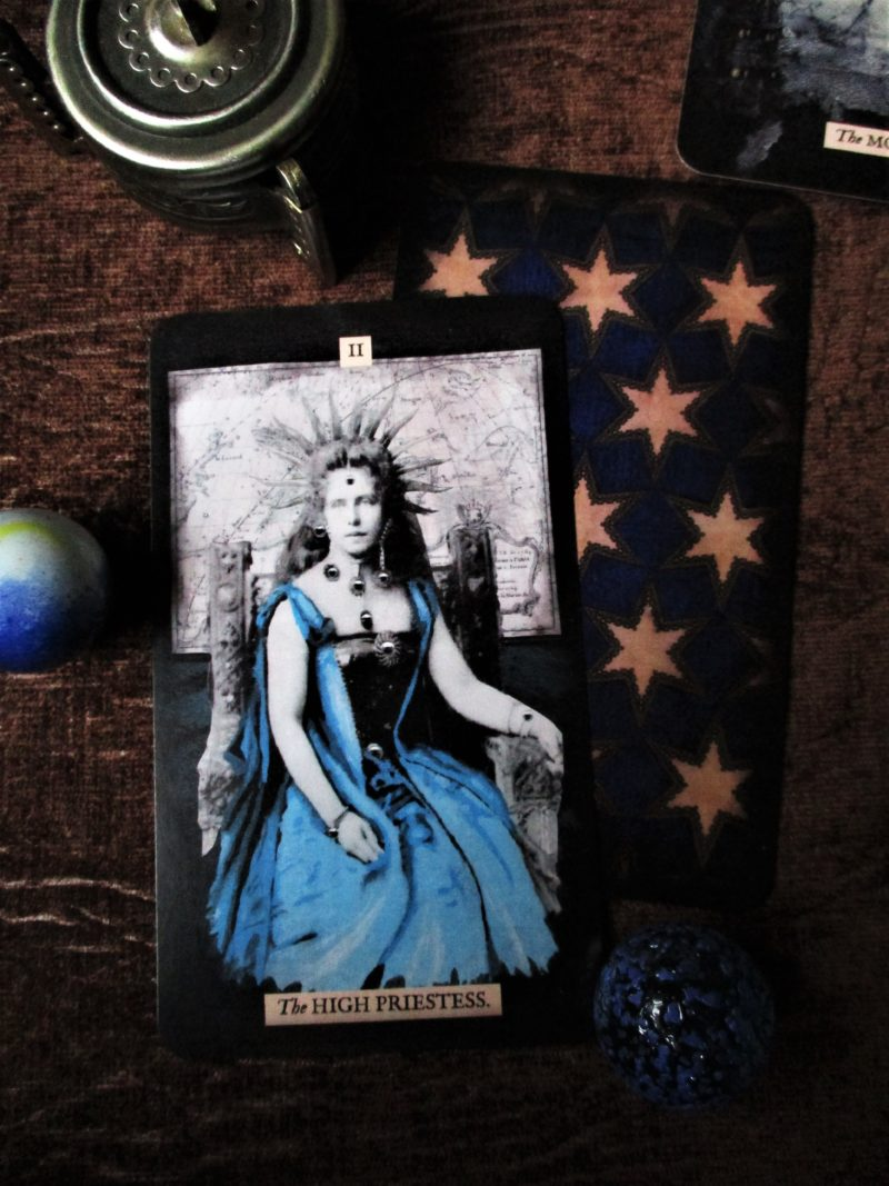 High Priestess The Stretch Tarot