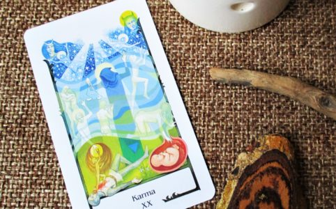 20 of Tarot of the Old Path