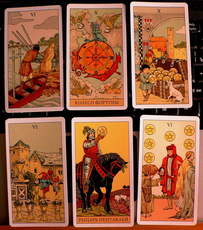 After Tarot spread for myself